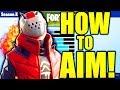HOW TO AIM BETTER IN FORTNITE SEASON 10 TIPS! IMPROVE YOUR AIM FORTNITE SEASON X PRO TIPS!