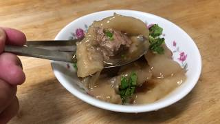 潮州張記肉圓????柔嫩的口感顯現出台灣肉圓另一種新境界???? 台灣美食????屏東小吃名店❤️ 店影
