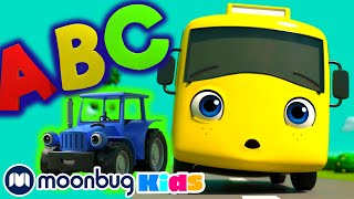 ABC Song - Little Baby Bum! Learn   ABC 123 Moonbug Kids   Fun Cartoons   Learning Rhymes