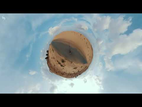 Cinematic intro shot on Insta360 ONE X in Dubai Desert