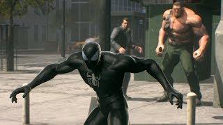 Chris Redfield mistakenly turns Spiderman into a Symbiote (Black Suit) | Marvel vs Capcom Infinite