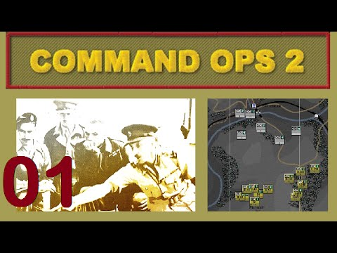 Command Ops 2 | Let's Play / Gameplay - 01 - Return to St Vith