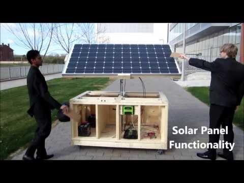 UOIT Engineering Project | Sun Seeking PV Solar Panels