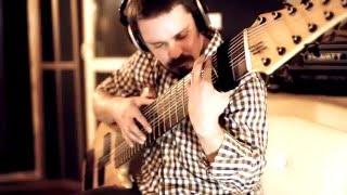 Студийная запись трека Pulse Of The Earth Уличный музыкант Василий Чернов 12 струнный БАС