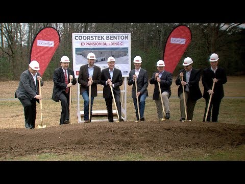 CoorsTek Breaks Ground On Expansion Facility In Benton