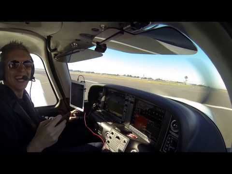 Flying a Cirrus SR22 from Sydney International to Bankstown IFR