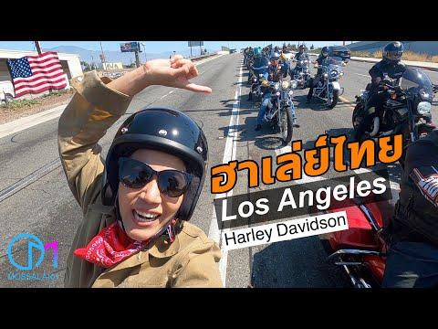 สนั่นเมือง! กลุ่มฮาเล่ย์คนไทยในอเมริกา เส้นทางไปงาน Born Free,CA 2021 #มอสลา |Harley Davidson CA