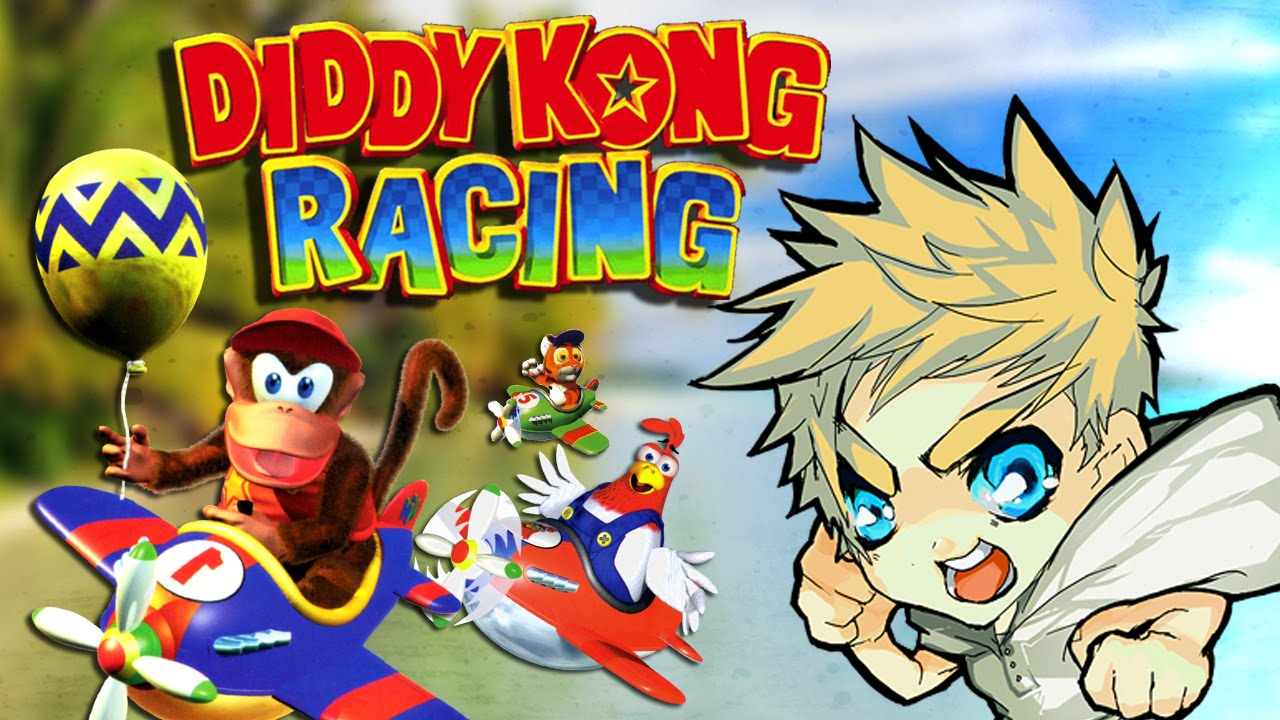 Diddy Kong Racing - Dave Control Super Show - YouTube