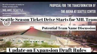 NHL Expansion Seattle 2020 - News & Updates