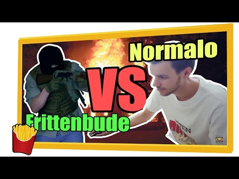 Frittenbude vs. Normal Player! [Real-Life CS:GO]