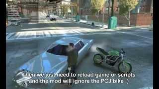 Bicycle mod - Restoring bikes - GTA IV