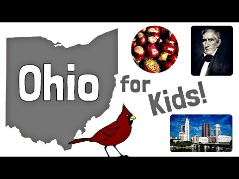 Ohio for Kids | US States Learning Video