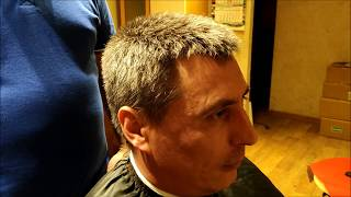 стрижка Ёжик, Men's haircut