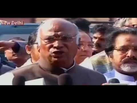 The Govt failed completely in running the proceedings in the Parliament: Mallikarjun Kharge