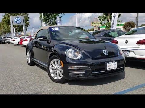 2017 Volkswagen BEETLE 1.8T SE Convertible San Jose Sunnyvale Hayward Redwood City Cupertino