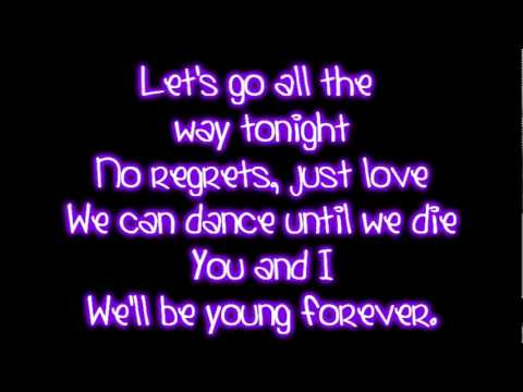 Teenage dreams. Katy Perry lyrics and words