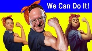 Bernin' for Bernie  ~ Bernie Sanders 2016 Anthem