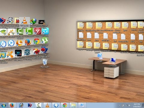 How To Make A Beautiful Classic 3D Desktop