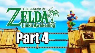 The Legend of Zelda: Link's Awakening (2019) Switch Gameplay Walkthrough Part 4 (No Commentary)