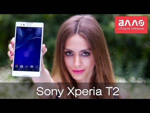 Видео-обзор смартфона Sony Xperia T2 Ultra D5303