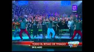 """Todo el ritmo de Thiago en """"El Muro"""" de Morandé con Compañía"""