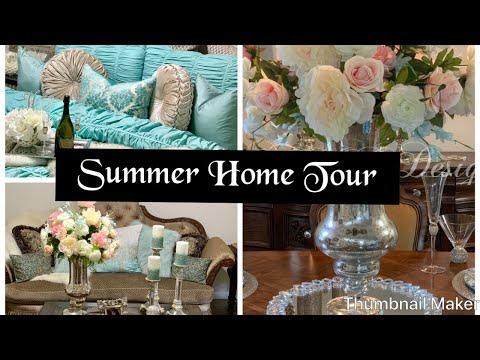 SUMMER HOME TOUR/ GLAM HOME TOUR #glamhome #glamhomedecor #hometour