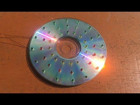 Free Energy 100%, How to make 10.5 V solar cell from LED