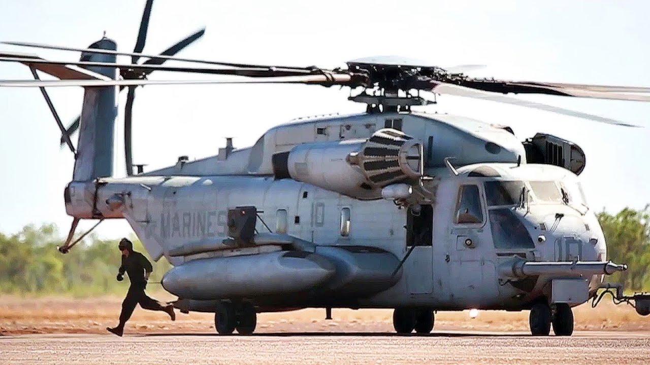 U.S. Marine Corps CH-53E Sea Stallion Actions