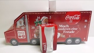 Big Coca Cola Truck Advent Calendar Unboxing