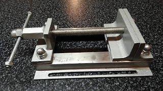 Тиски для сверлильной стойки/Make a metal  Drill Vise