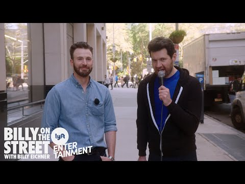 Billy On The Street w/ Chris Evans