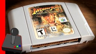 Indiana Jones And The Infernal Machine | Blockbuster Exclusive | N64 - H4G