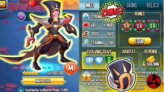 🔴monster Legends: My New Mitico Svart Level 150 F2p Skin Review Pvp