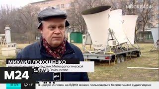 Московские парки ограничивают вход из-за ураганного ветра - Москва 24