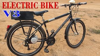 Build a Electric Bike Using DIY KIT 250W Reducer Motor - V3