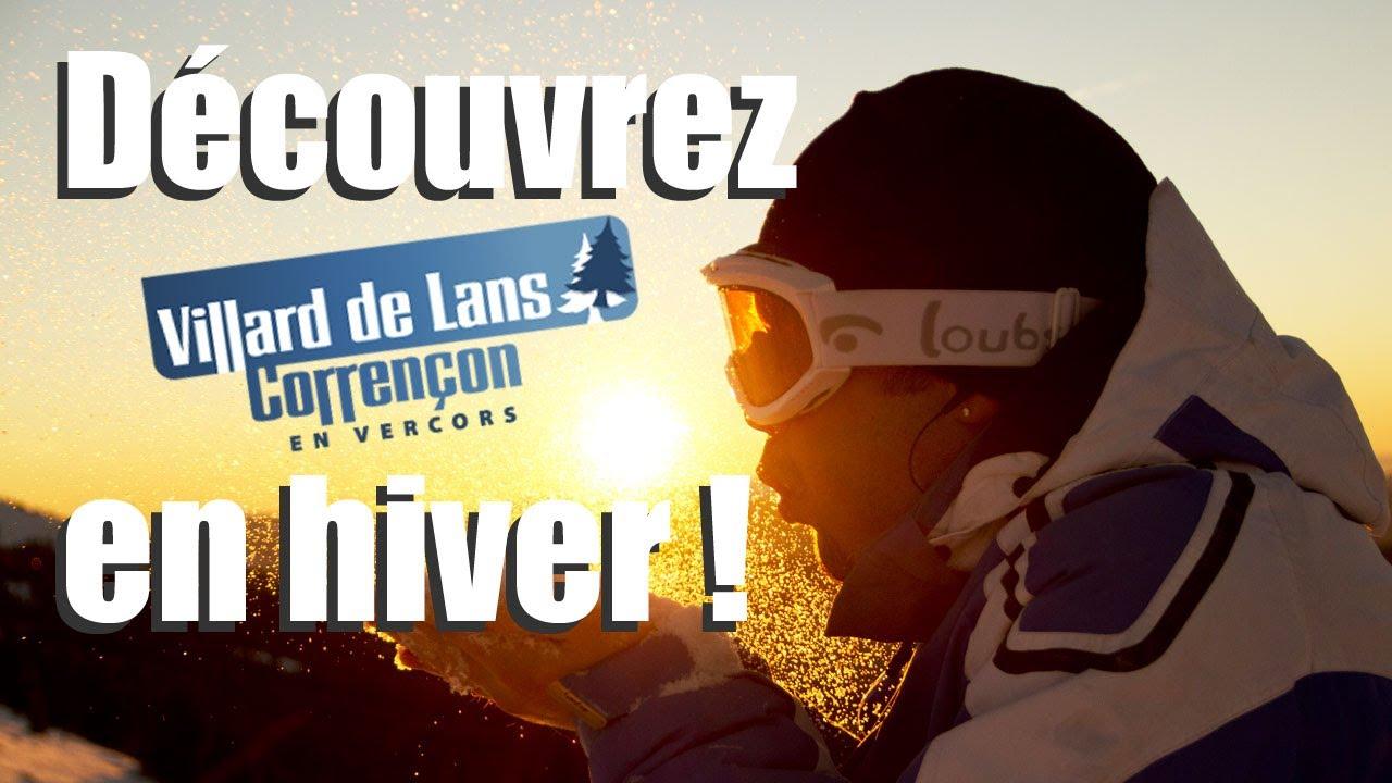 Villard De Lans En Hiver Ski Et Neige Mieux Qu En Webcam Youtube