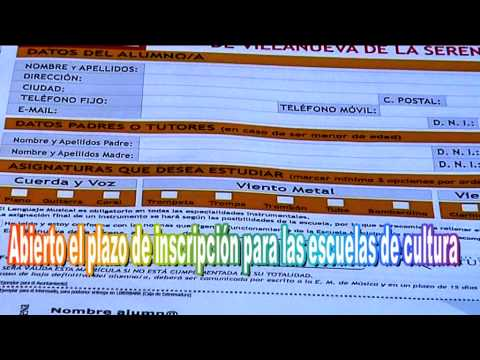 10 09 13 LARES INFORMA ESCUELAS DE CULTURA INSCRIPCIONES