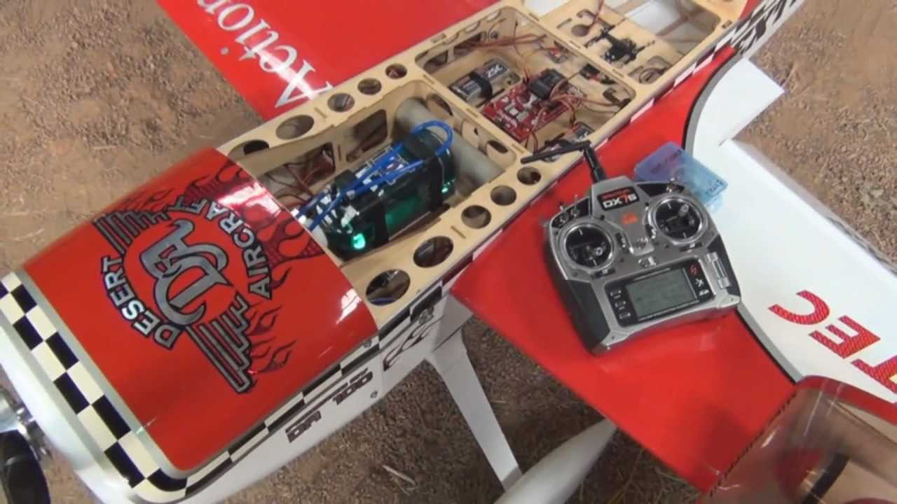 RC Giant Scale Basic Tutorial Aeroworks Extra 260
