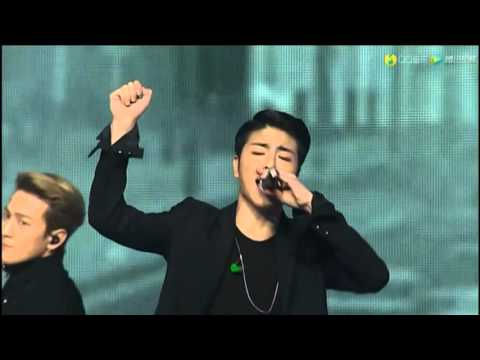 160323 iKON - APOLOGY @ QQ Music Awards 2016
