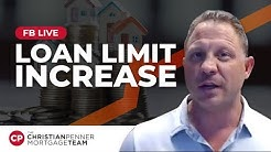 LOAN LIMIT INCREASE EXPLAINED by Christian Penner