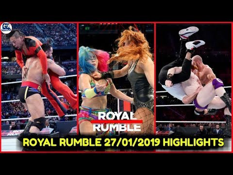 Download WWE Royal Rumble 27/01/2019 Highlights Preview   Royal Rumble 27th January 2019 Show