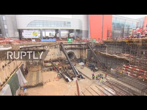 Russia: Construction breakthrough at Sheremetyevo airport for World Cup 2018