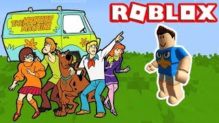 SCOOBY-DOO BASE AND MYSTERY MACHINE IN ROBLOX! (SCOOBY-DOO ROBLOX)