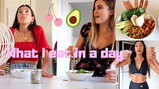 WHAT I EAT IN A DAY + Millie tries being vegan for 24 hours