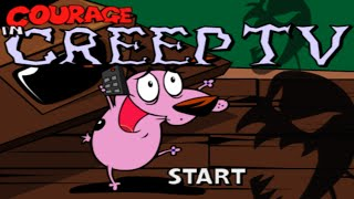 Cartoon Network Games: Courage The Cowardly Dog - Creep TV