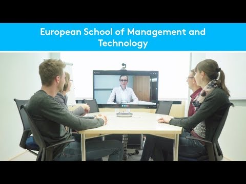 Logitech with Skype for Business at the European School of Management and Technology