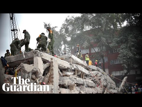 'People just ran': deadly 7.1 magnitude earthquake hits Mexico