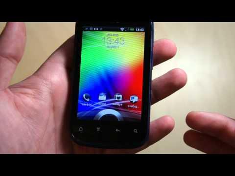 Видео HTC Explorer