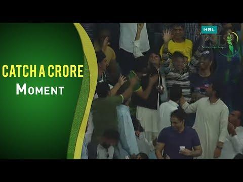 PSL 2017 Match 16: Peshawar Zalmi vs Lahore Qalandars - Pepsi Catch A Crore Moment