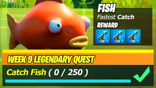 Catch Fish (0/250) - Fortnite Legendary Quest